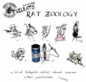 Fuel Rat Roles. Rattatoon.